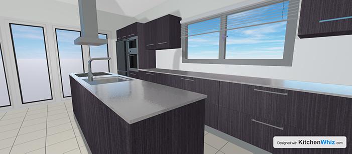 kitchen design wood ebony